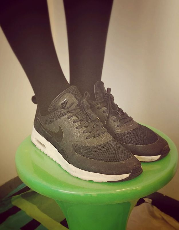 Les baskets Nike de Laura