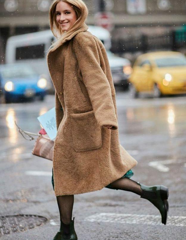 Un manteau doudou pour retrouver le sourire