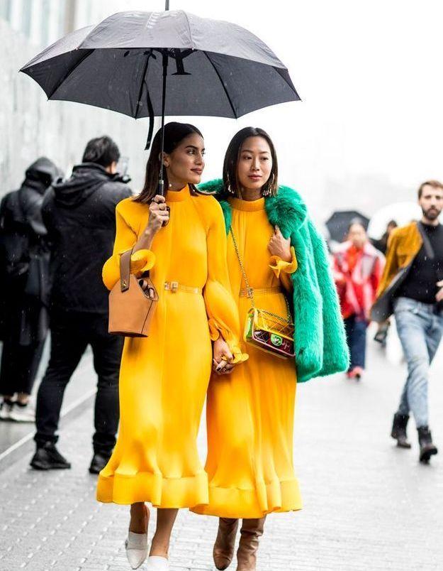 Une robe solaire pour affronter la morosité hivernale