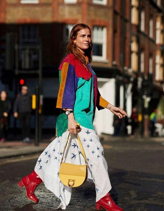 Une veste aux couleurs criardes pour rendre hommage à David Bowie