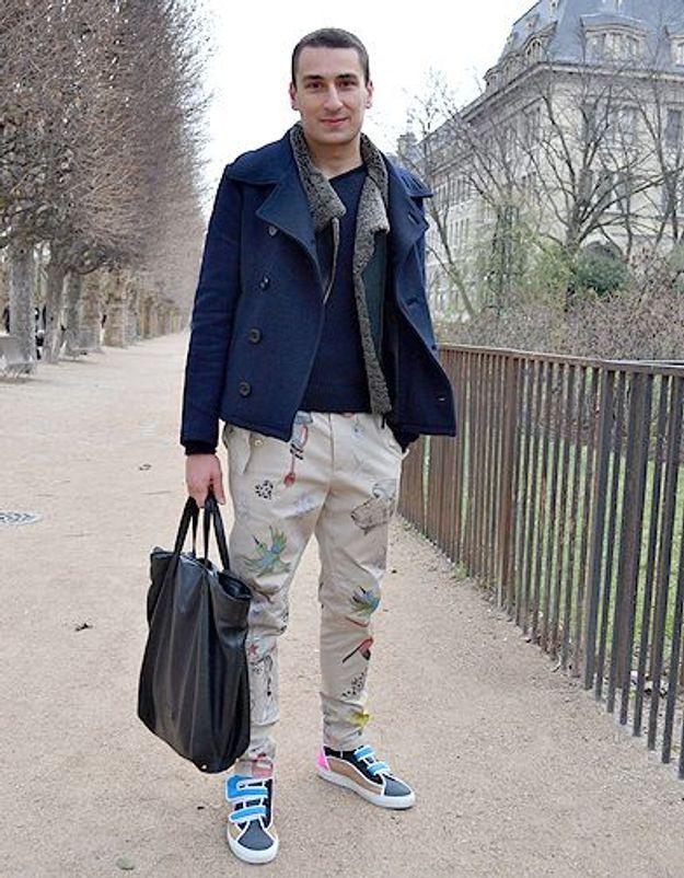 Mode street style homme look tendances defiles haute couture paris 16