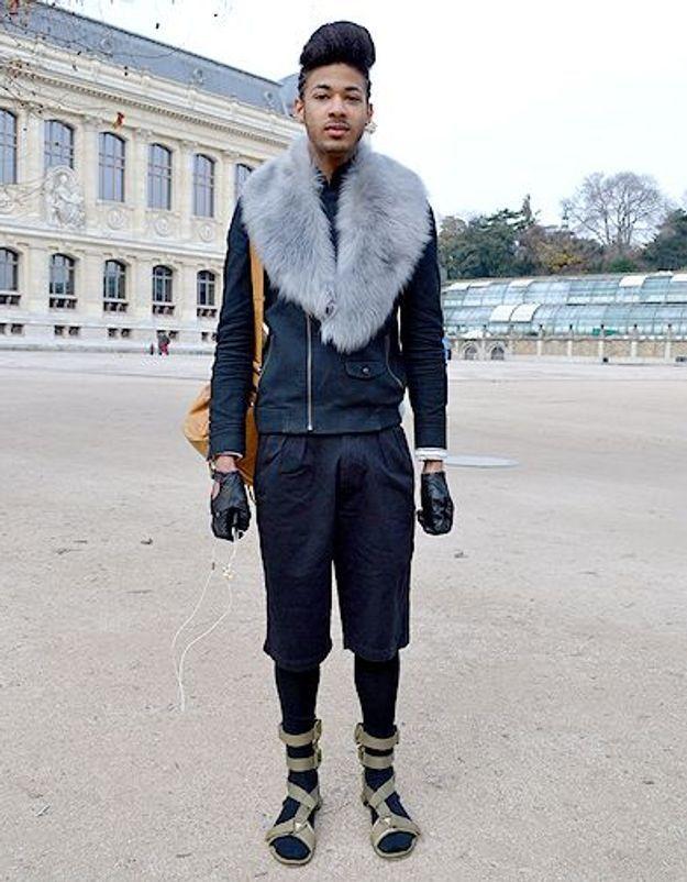 Mode street style homme look tendances defiles haute couture paris 17
