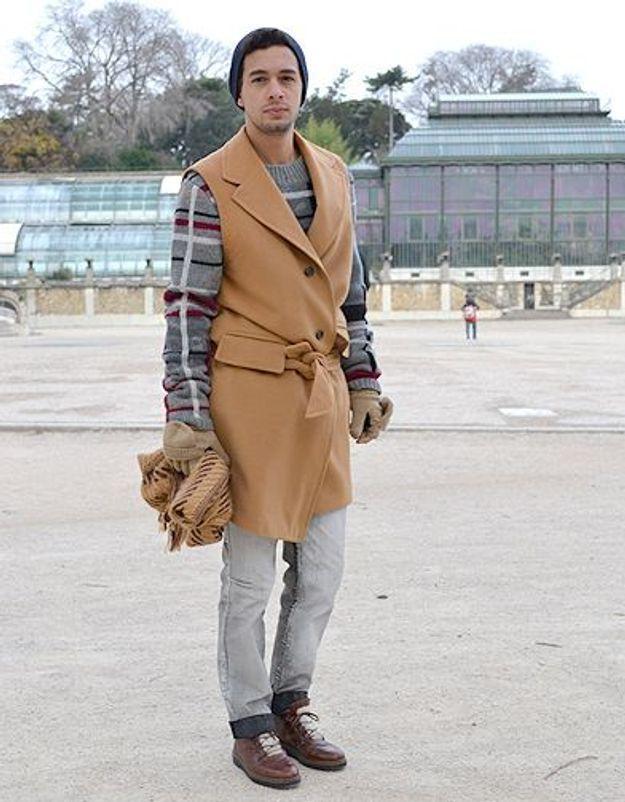 Mode street style homme look tendances defiles haute couture paris 18