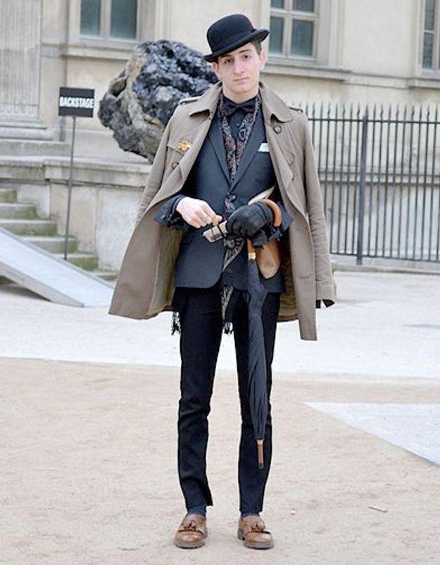 Mode street style homme look tendances defiles haute couture paris 22
