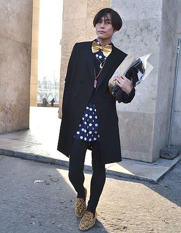 Mode street style homme look tendances defiles haute couture paris 25