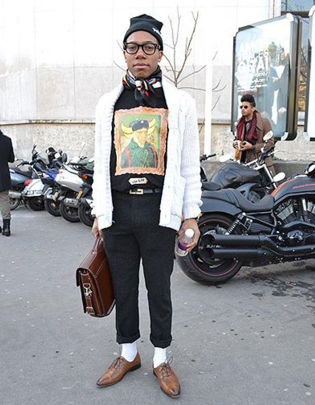 Mode street style homme look tendances defiles haute couture paris 27