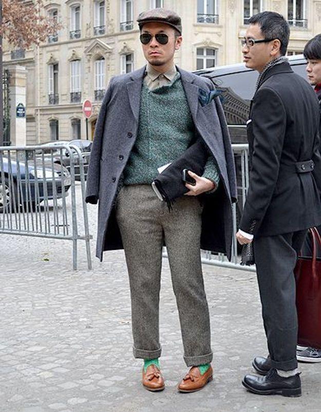 Mode street style homme look tendances defiles haute couture paris 30