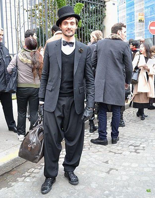Mode street style homme look tendances defiles haute couture paris 32