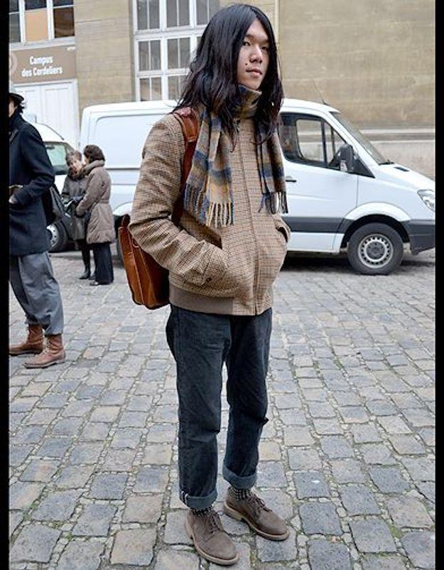 Mode street style homme look tendances defiles haute couture paris 33