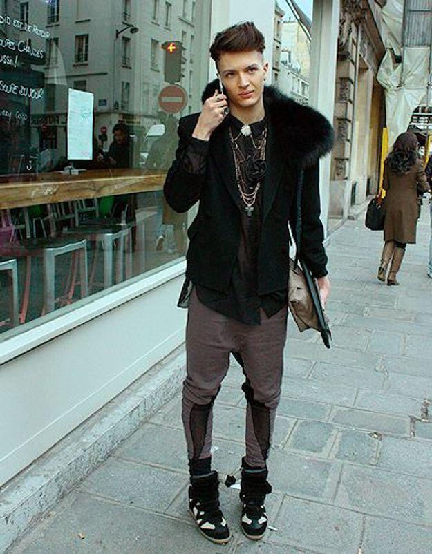 Mode street style homme look tendances defiles haute couture paris 41