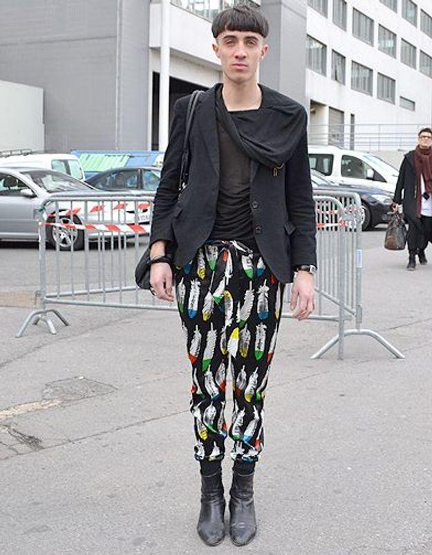 Mode street style homme look tendances defiles haute couture paris 45
