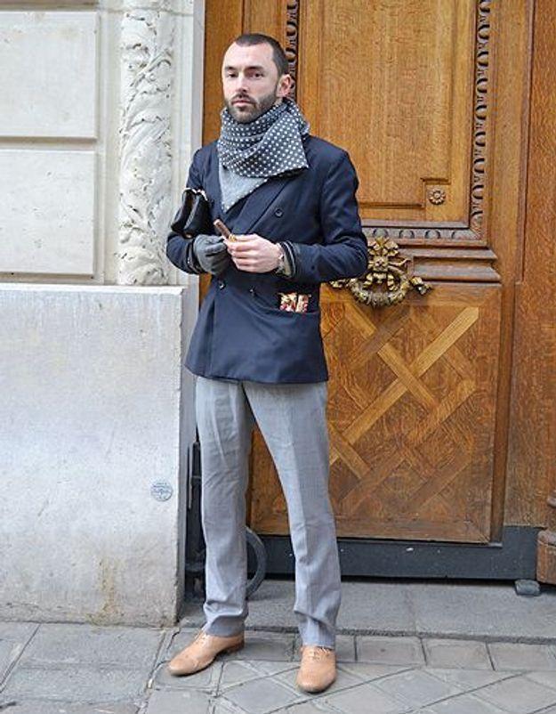 Mode street style homme look tendances defiles haute couture paris 52