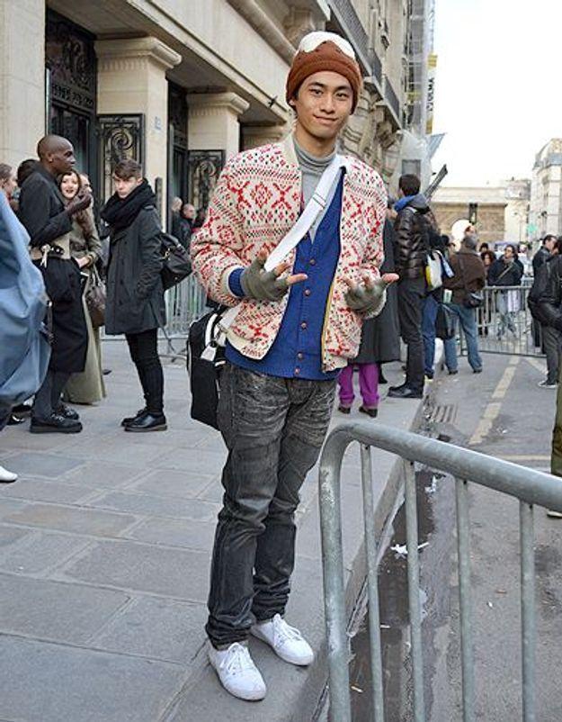 Mode street style homme look tendances defiles haute couture paris 53