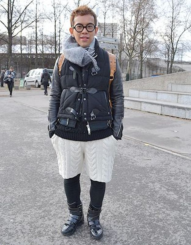 Mode street style homme look tendances defiles haute couture paris 7