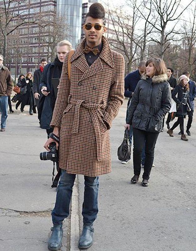 Mode street style homme look tendances defiles haute couture paris 8