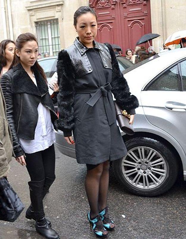 Mode street style femmes paris defiles haute couture 14