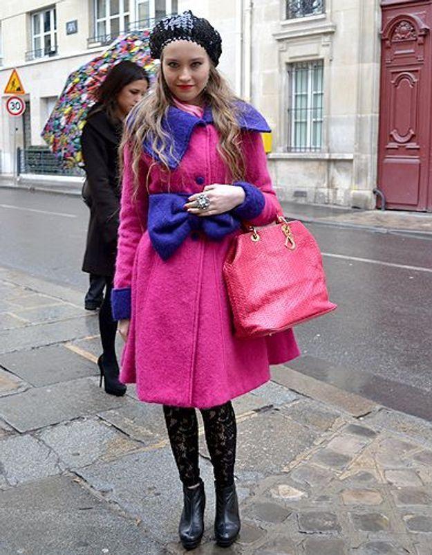 Mode street style femmes paris defiles haute couture 2