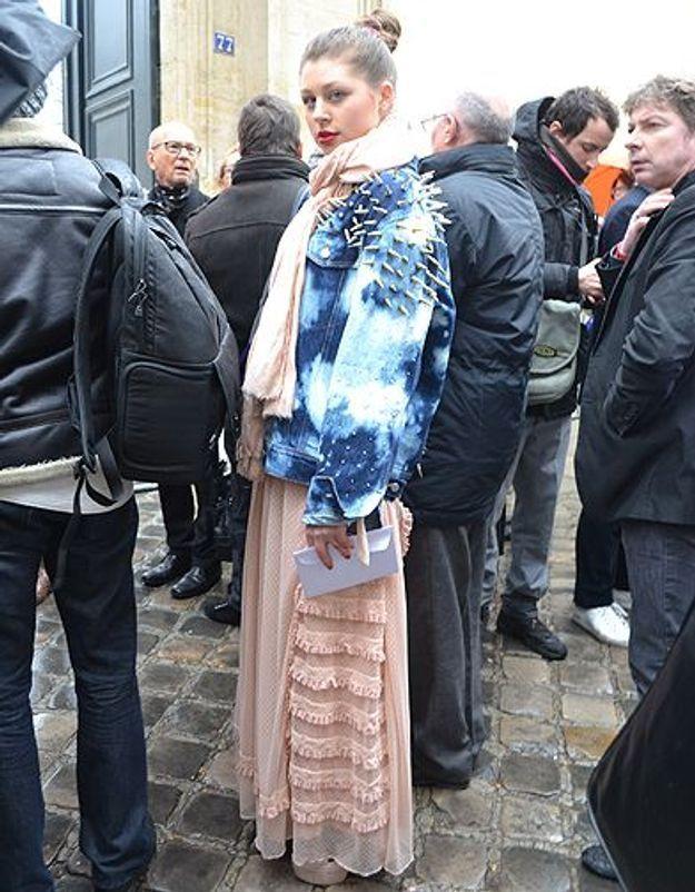 Mode street style femmes paris defiles haute couture 6