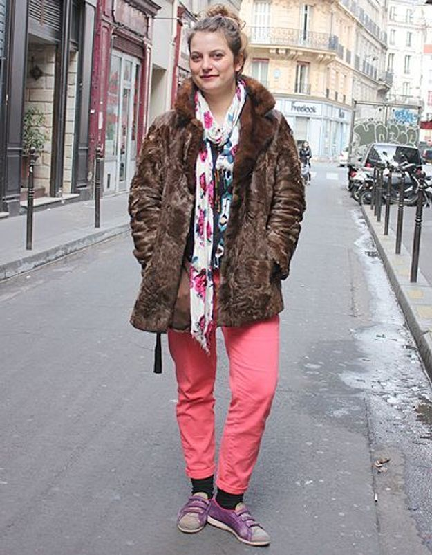 Mode street style tendance look jean Claire
