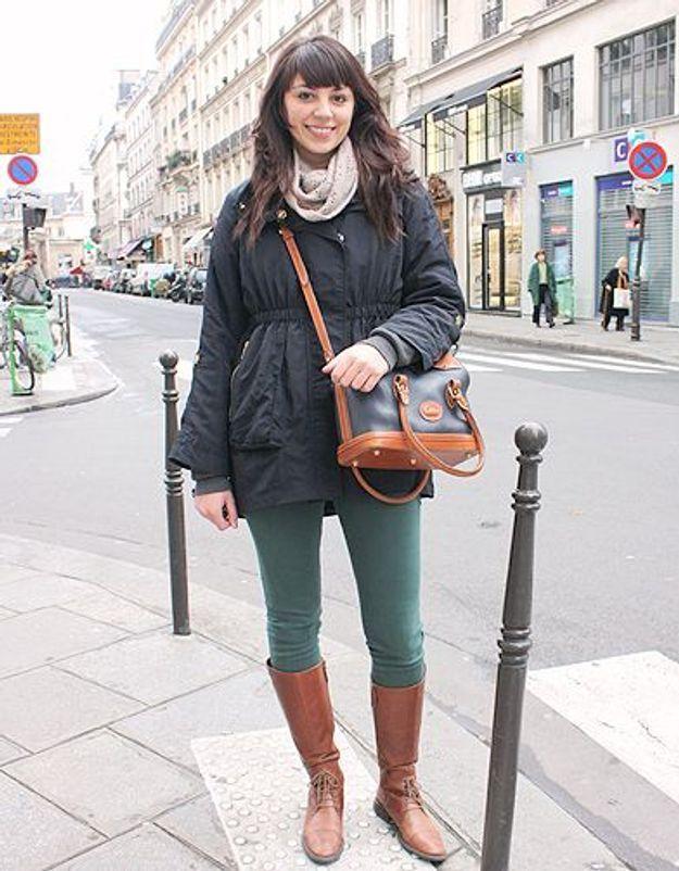 Mode street style tendance look jean Kendal