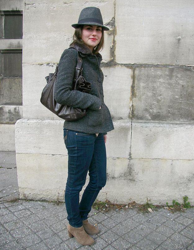 Street style : vos accessoires fétiches chapeau Gérard Darel