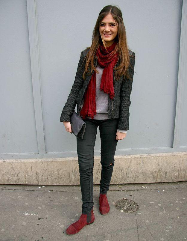 Street style : vos accessoires fétiches pochette Zadig & Voltaire