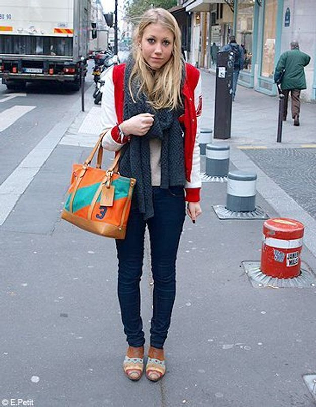 Mode look street style tenue grand froid agathe