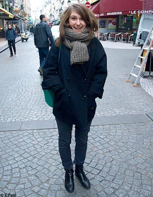 Mode look street style tenue grand froid clemence