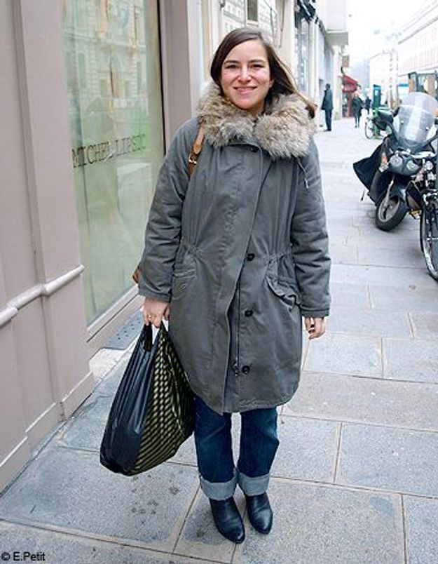 Mode look street style tenue grand froid cristina