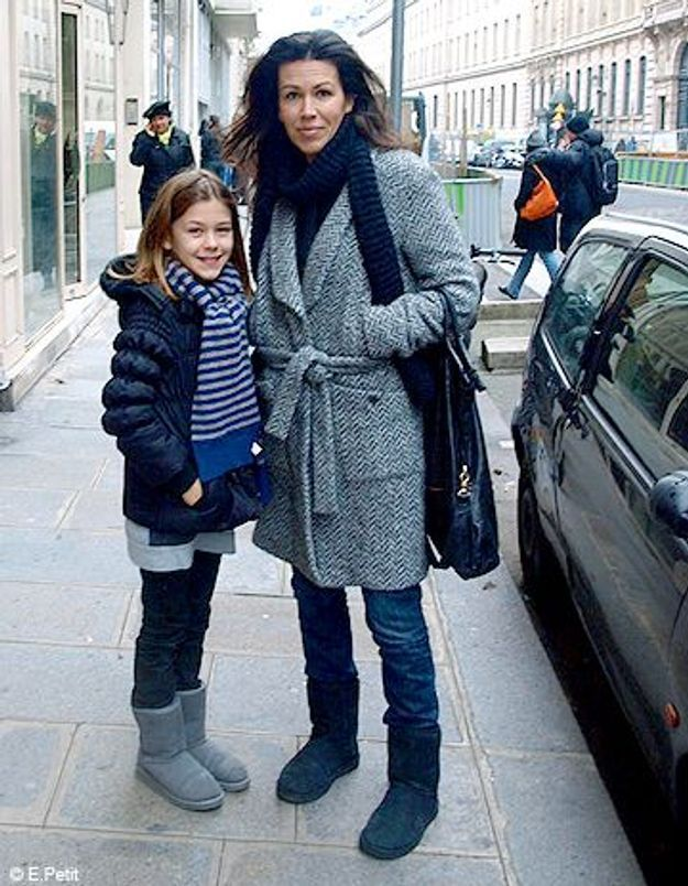 Mode look street style tenue grand froid Laurence