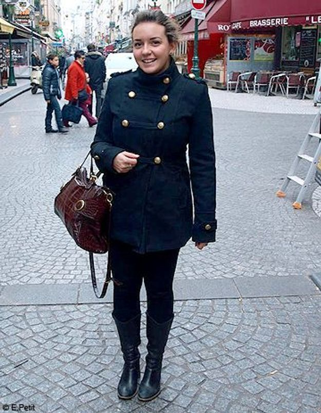 Mode look street style tenue grand froid loraine