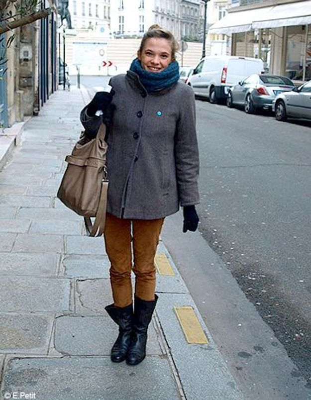 Mode look street style tenue grand froid Marie