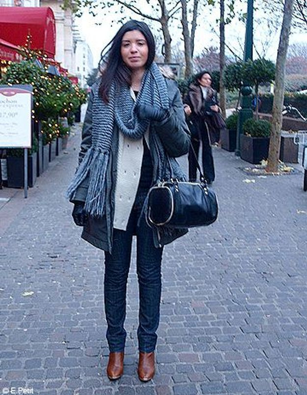 Mode look street style tenue grand froid sarah