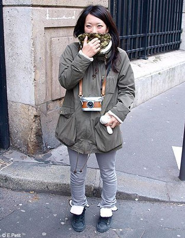 Mode look street style tenue grand froid sugihara