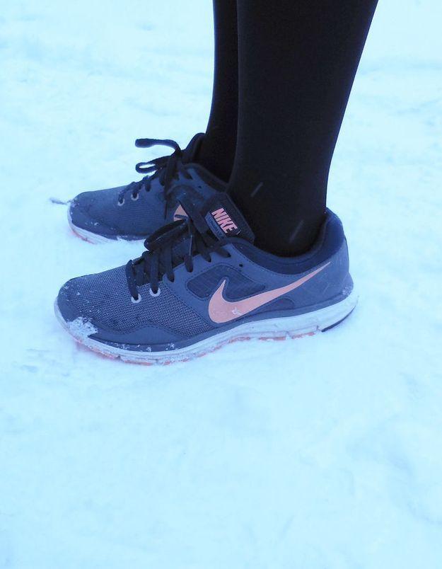 Ses sneakers Nike