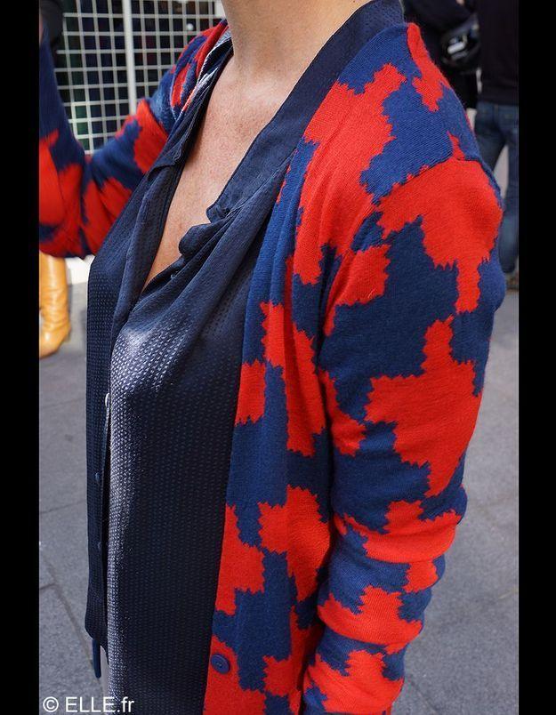 Vanessa travaille chez Diane Von Furstenberg détail