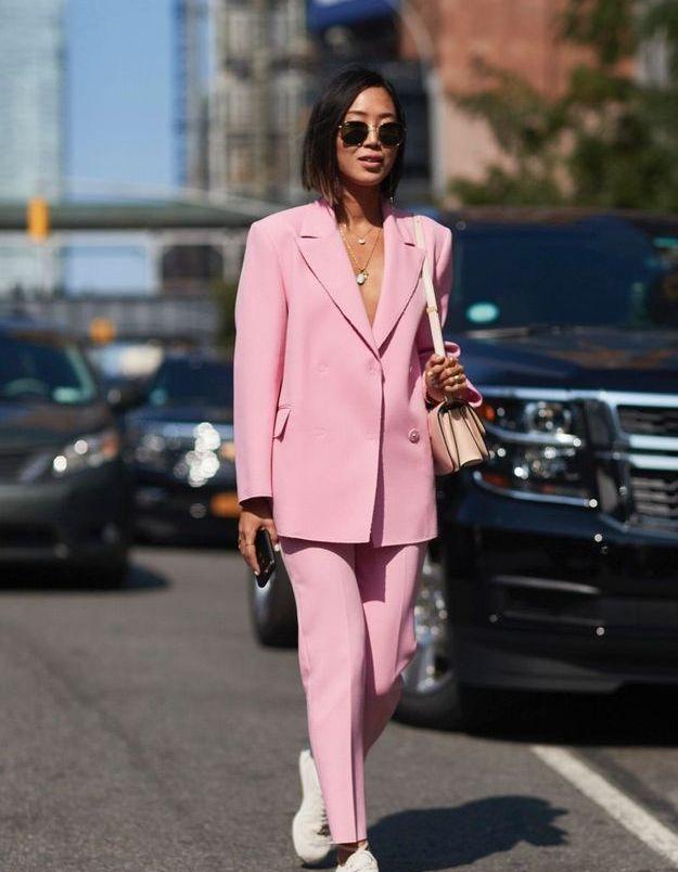 En blazer + pantalon