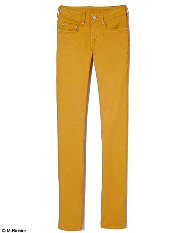 Mode tendance shopping jean look jean couleur cimaron