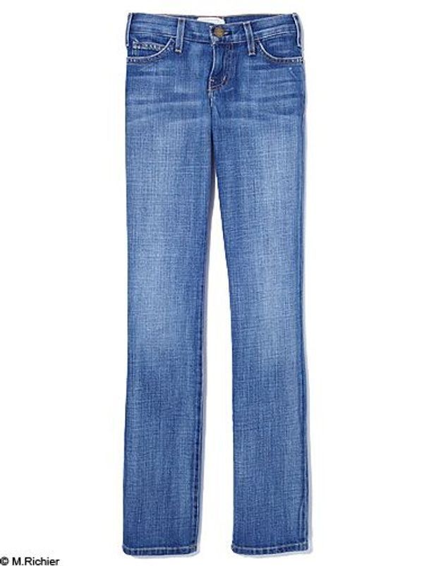 Mode tendance shopping jean look jean droit current elliott