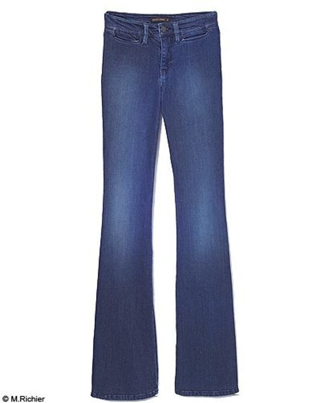 Mode tendance shopping jean look jean flare genetic denim
