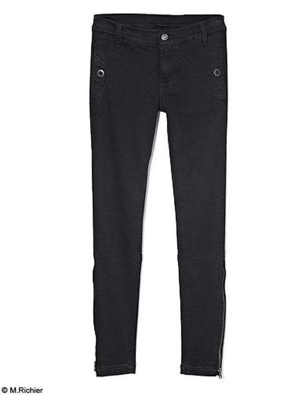 Mode tendance shopping jean look jean noir blanc 7  mankind