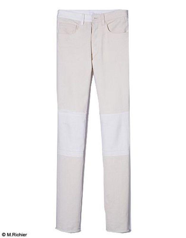Mode tendance shopping jean look jean noir blanc chloe