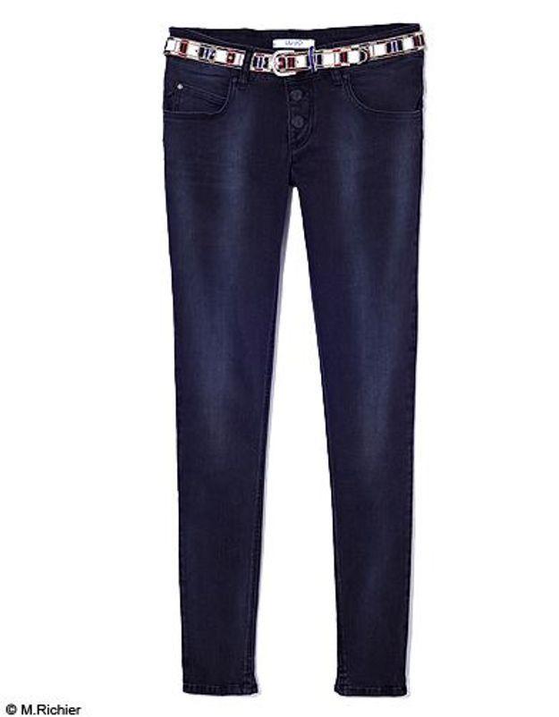 Mode tendance shopping jean look jean noir blanc liu jo