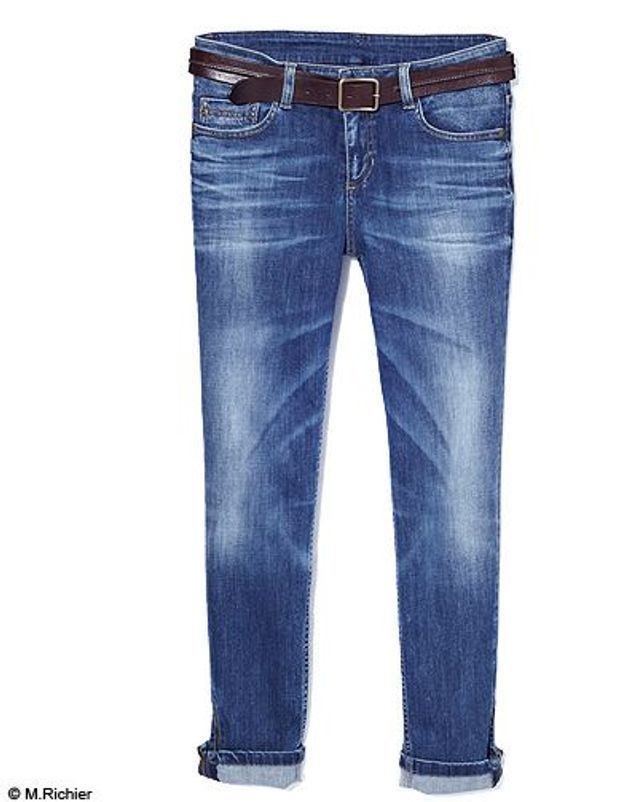 Mode tendance shopping jean look jean revers comptoir cotonniers