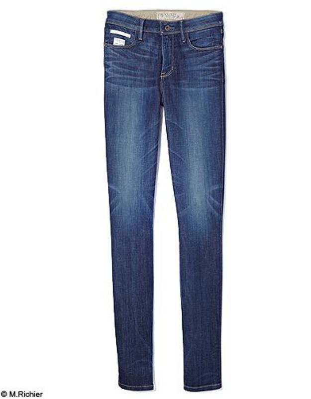 Mode tendance shopping jean look jean slim guess