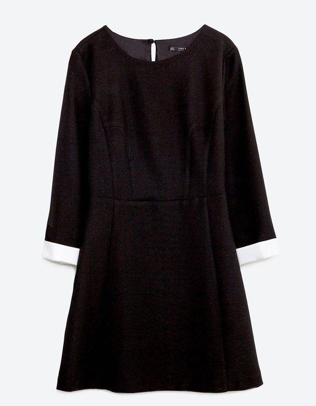 Robe pour morphologie en A Zara