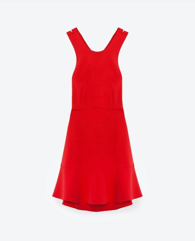 Robe pour morphologie en V Zara
