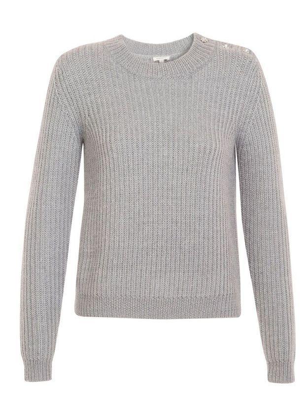 Pull en laine gris Manoush