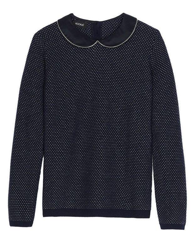 Pull en laine noir Kookai