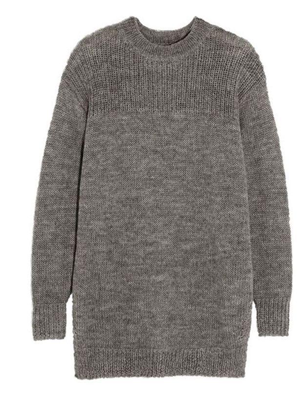Pull en laine taupe Isabel Marant